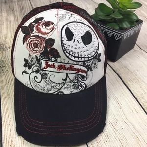 Disney jack skellington SnapBack trucker hat